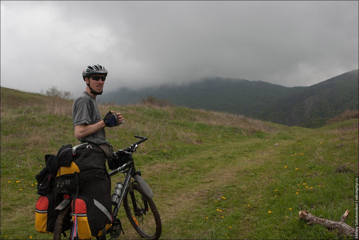На перевале Нижний Шелен