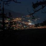 Ночная Ялта с Серебряной беседки