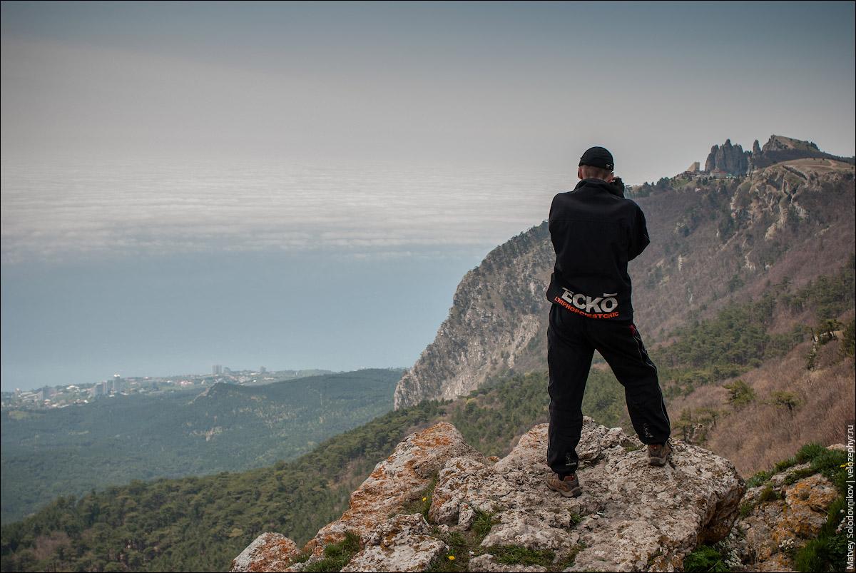 На скале Шишко