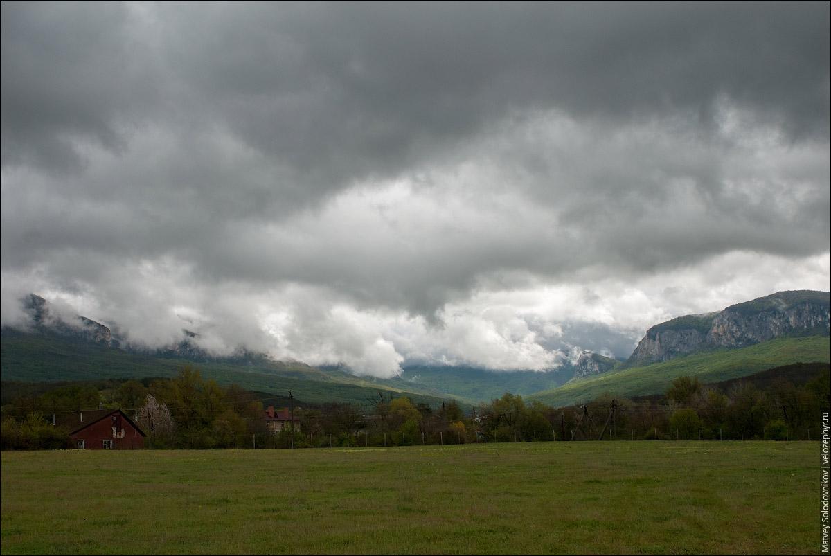 Еще облака и тучи