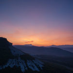 Рассвет на Кыз-Кермене