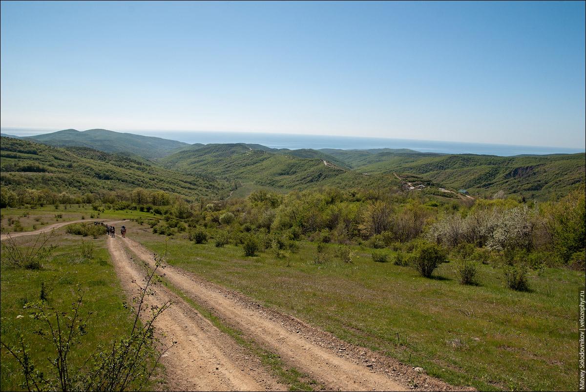 Видно село Генеральское