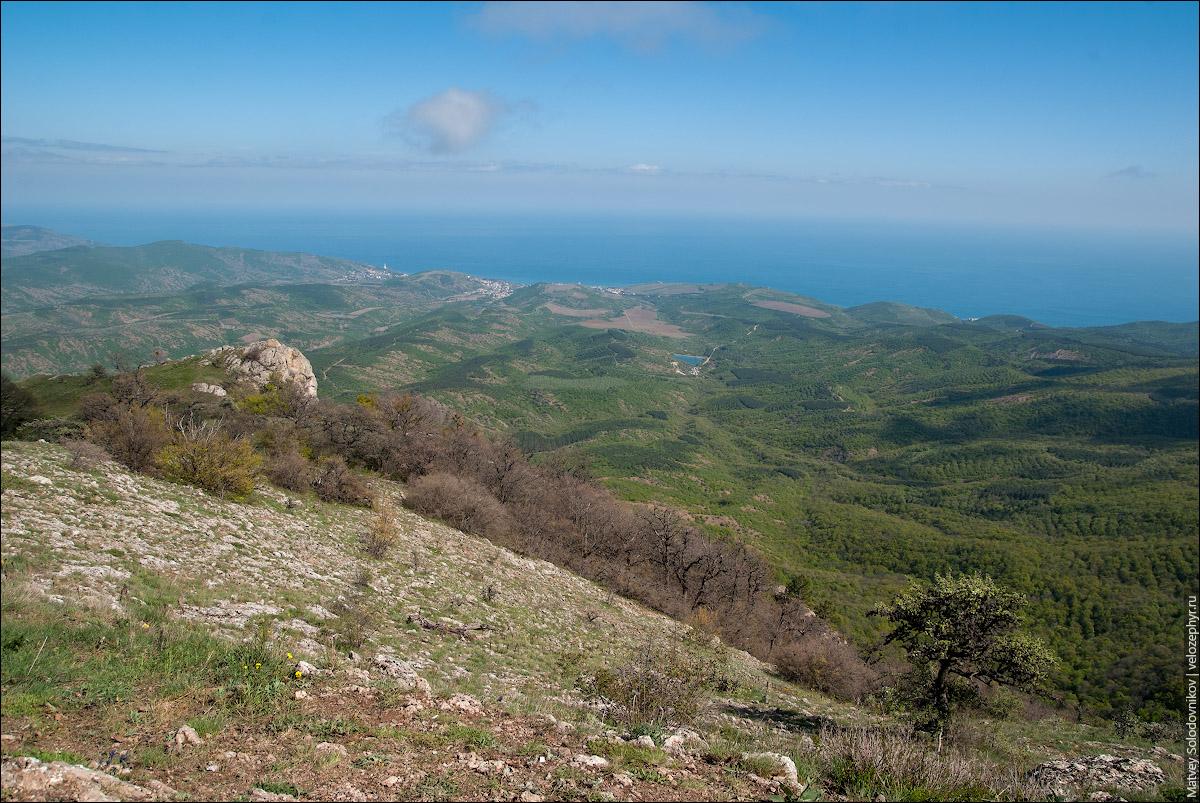 Вид на Крым