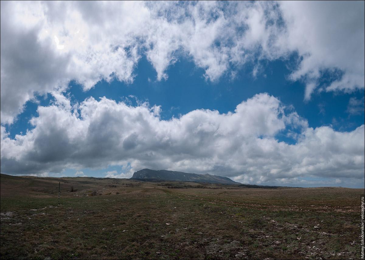 Вид на верхнее плато