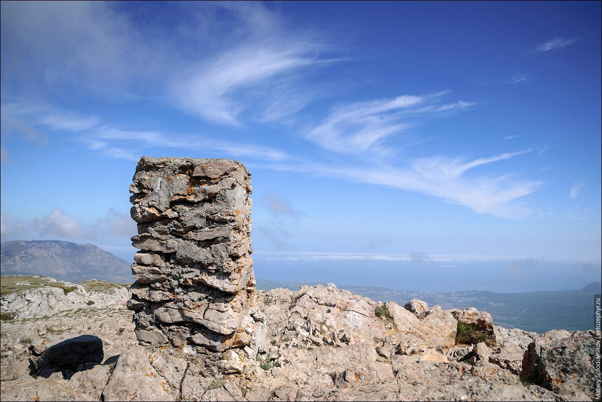 Эклизи-бурун, вершина Чатыр-дага