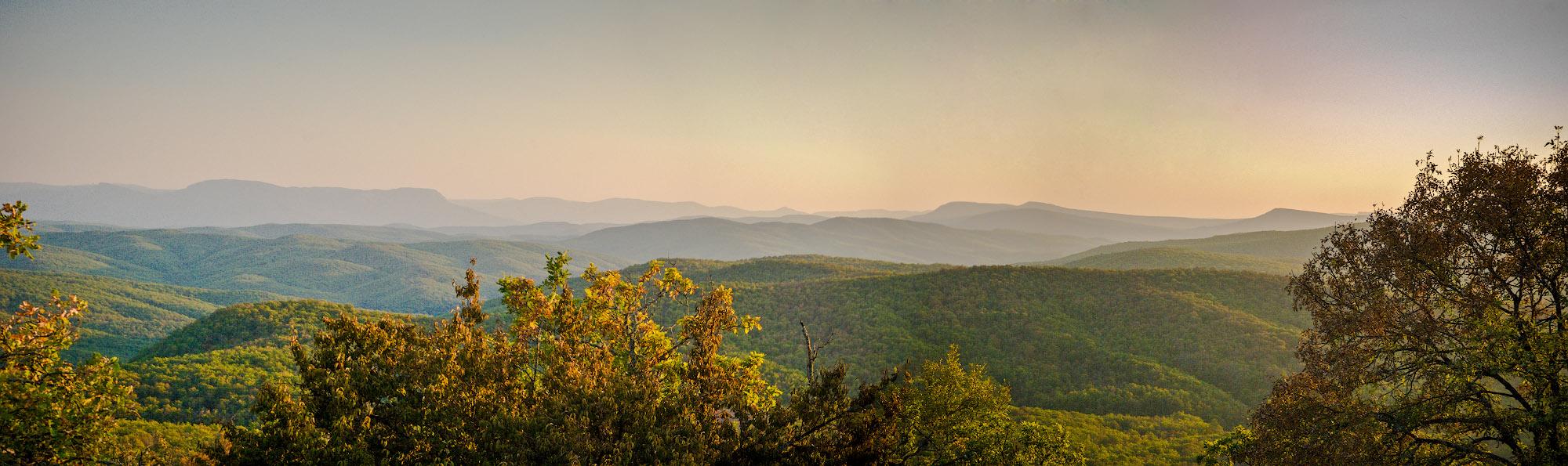 Панорама с Азапсын-Сырта
