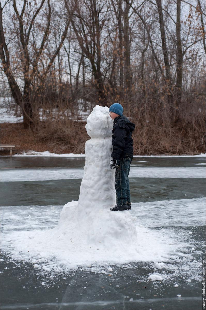Снежный баб