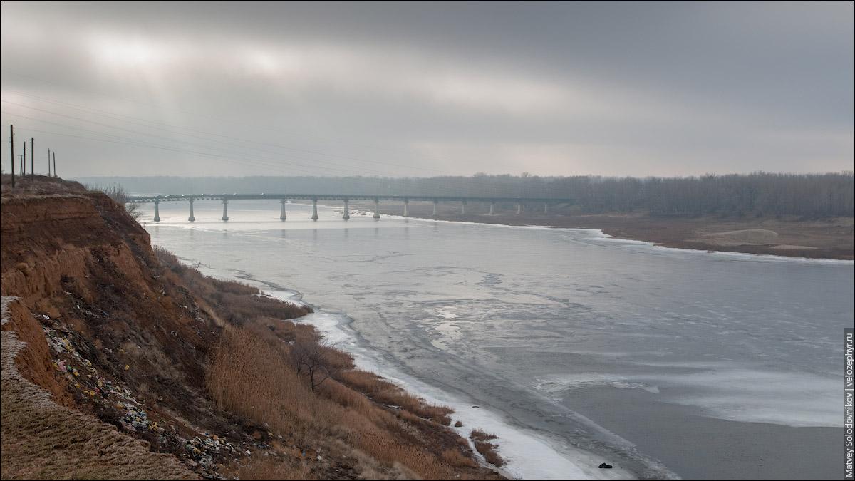 Мост в Средней Ахтубе