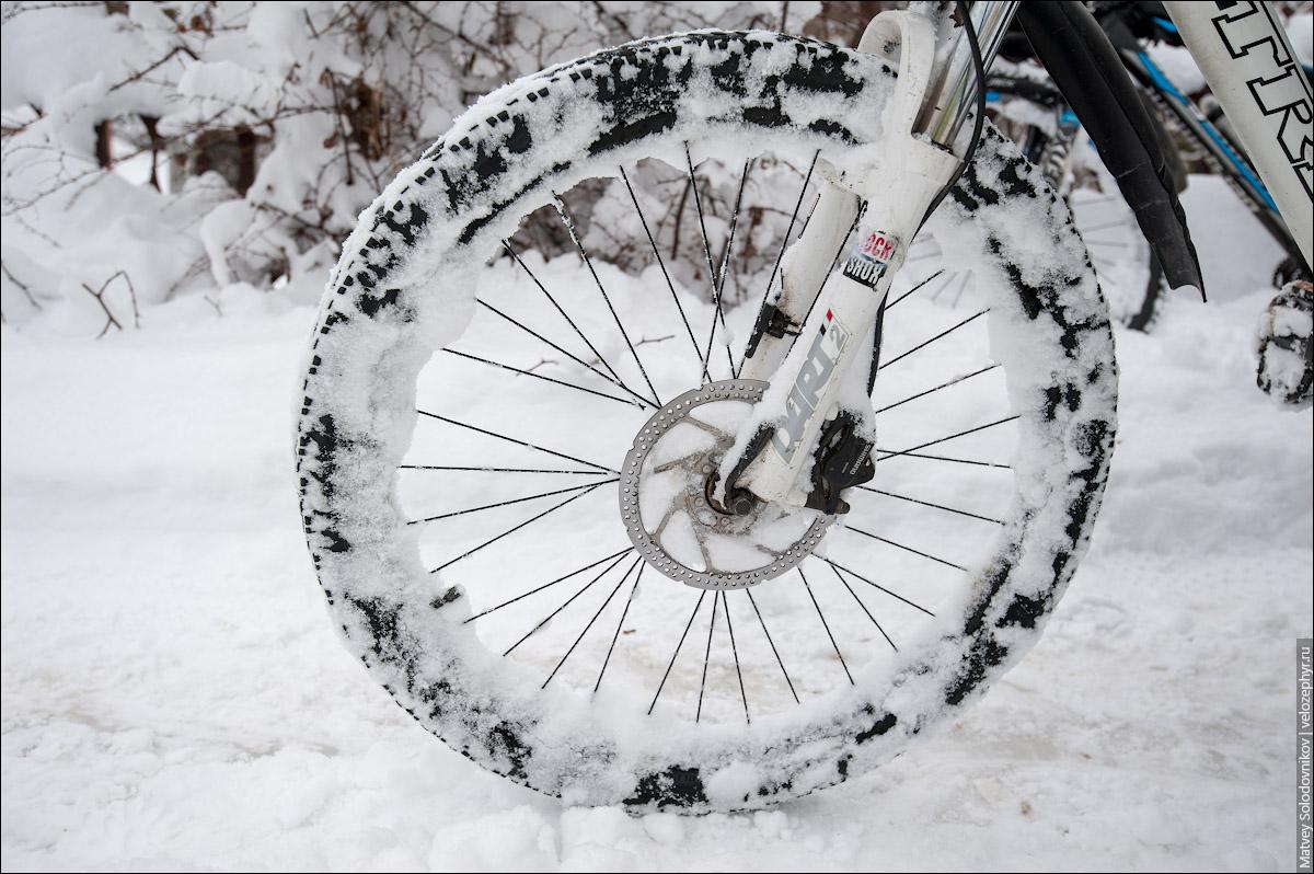 Снежно, однако!
