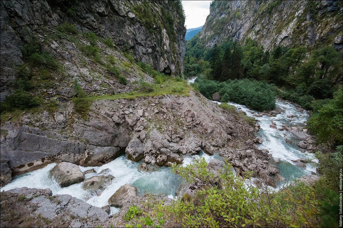 Извивы реки