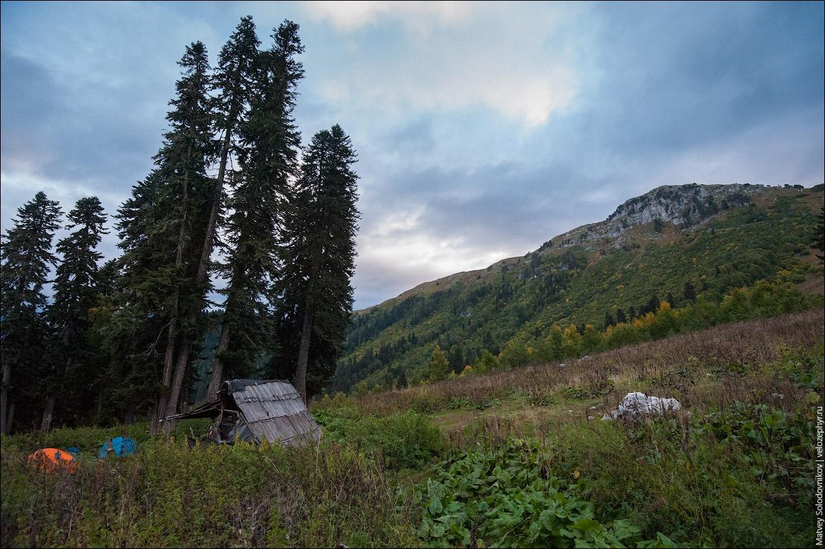 Утро под горой Пшегишхва