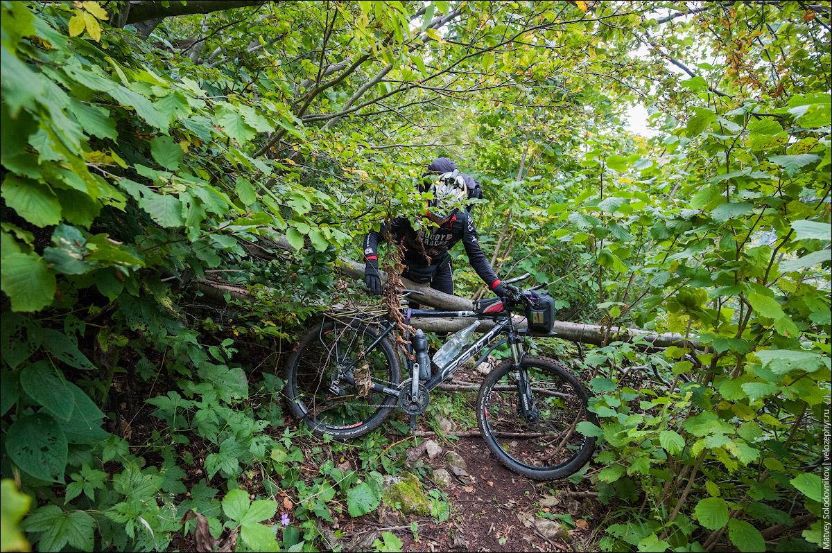 Велотуризм, или перенос тяжестей через препятствия