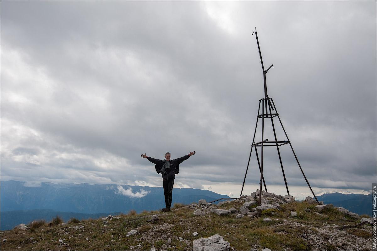 На высоте 2217 м