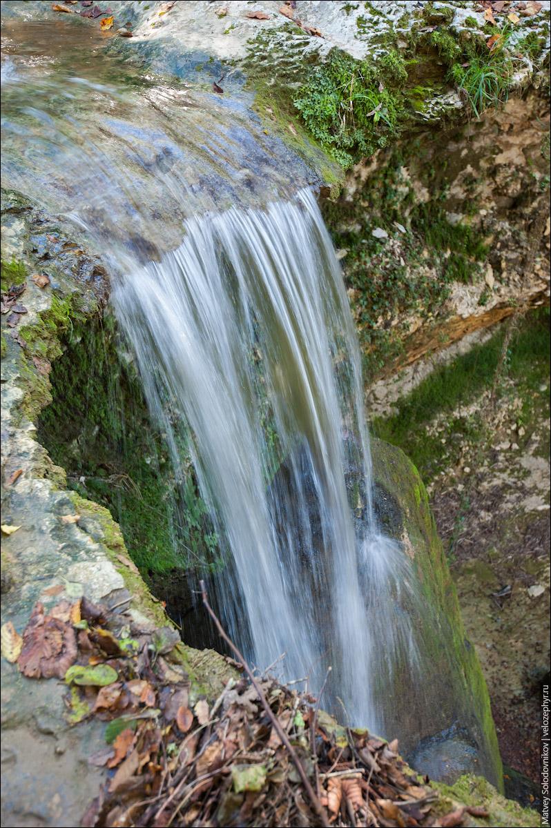 Барьяльский водопад, вид сверху