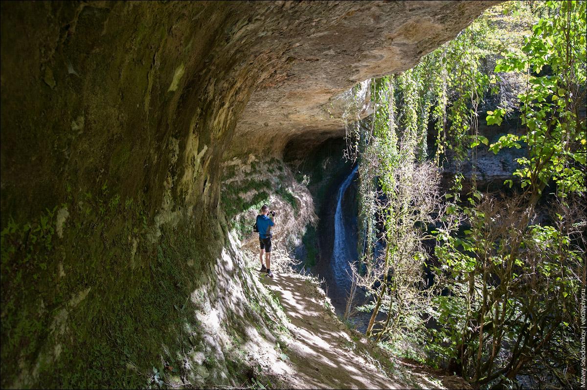 Вот и водопад