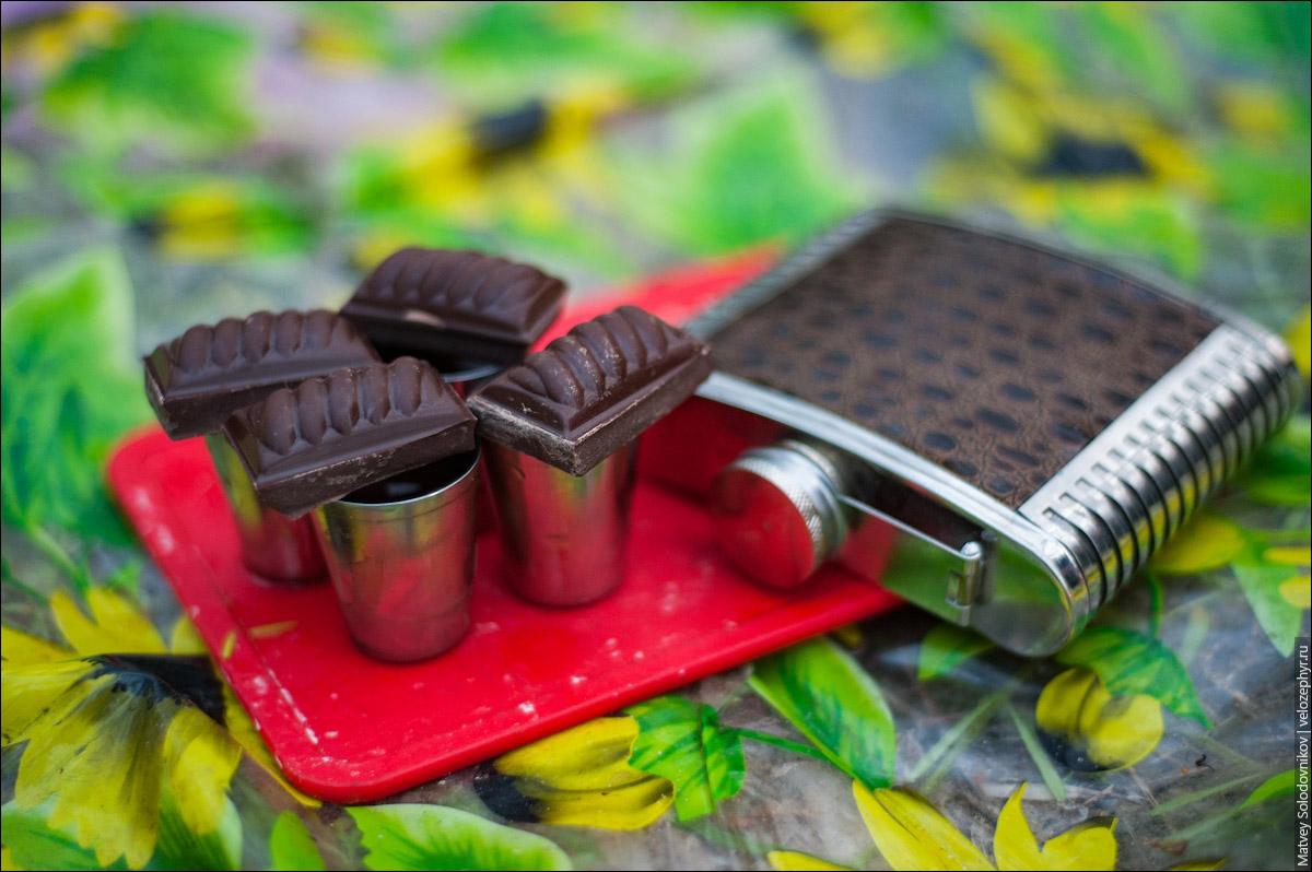 Коньяк и шоколад