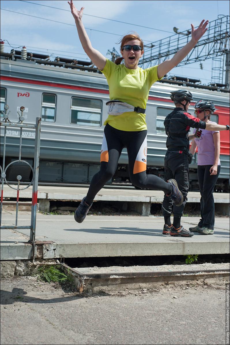 Прыжок!