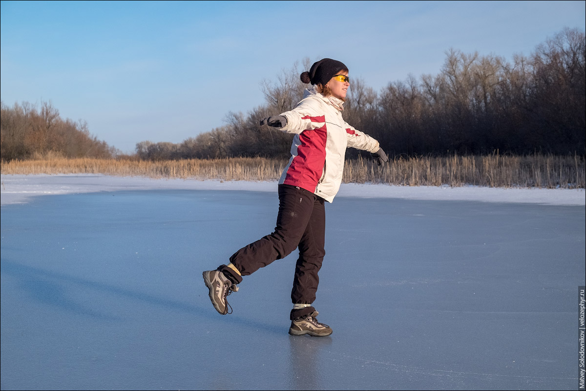 Можно кататься на коньках