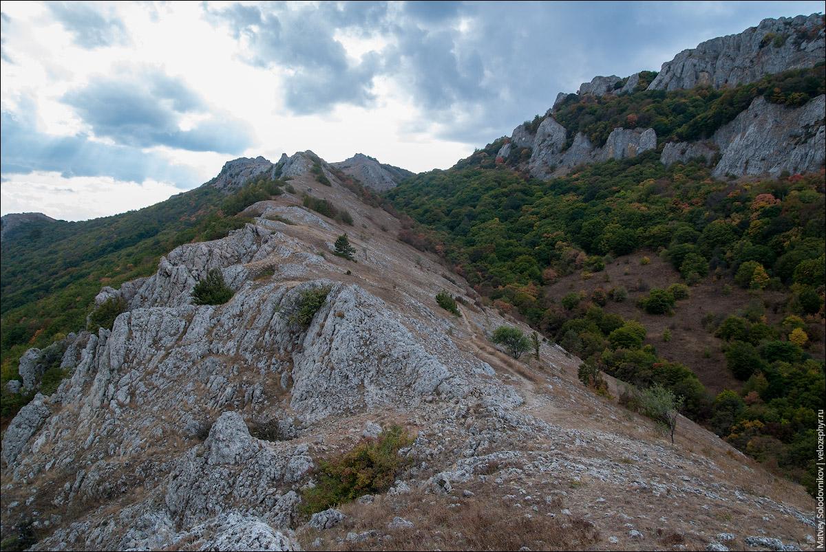 Перевал Малые ворота (Кучук-Капу, 835 м)