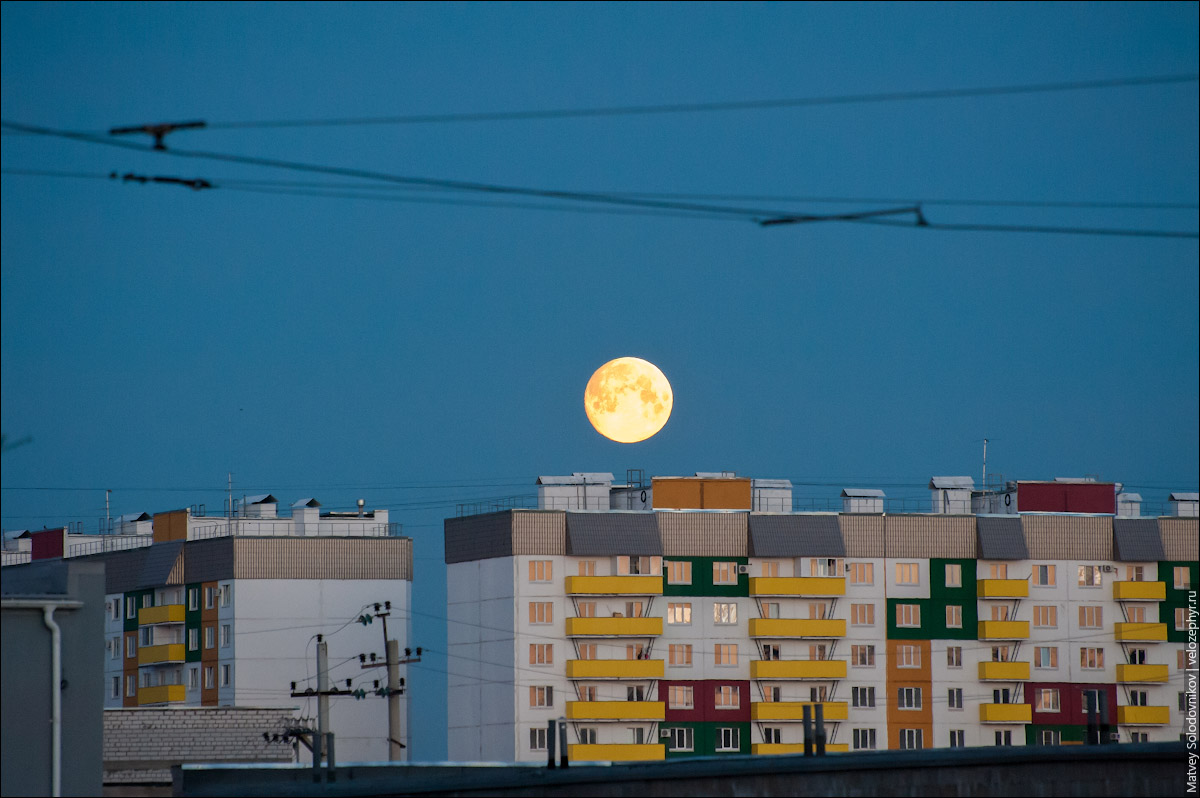 Луна восходит