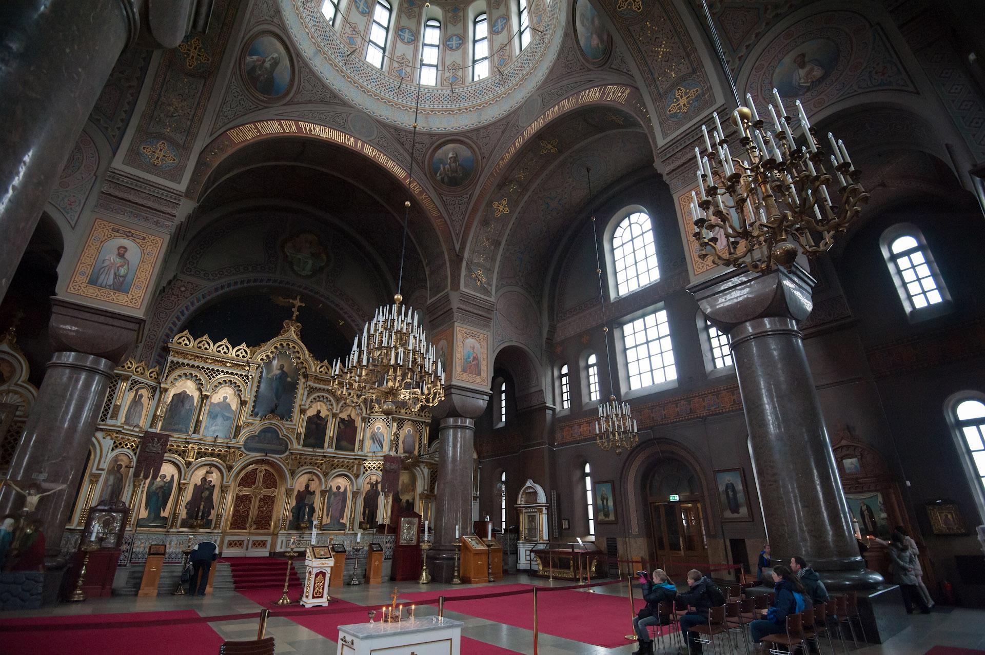 Успенский православный собор в Хельсинки