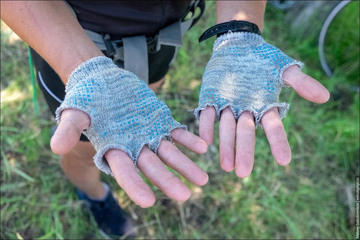 Крафтовые перчатки