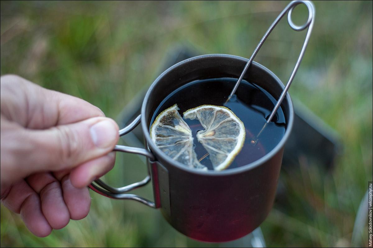 Чай с сушёным лимоном