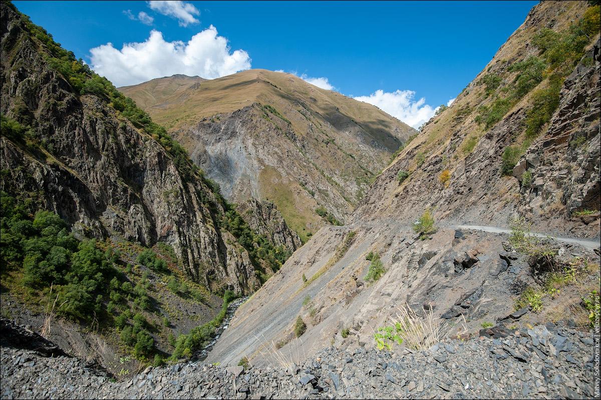 Типичный пейзаж для Хевсуретии