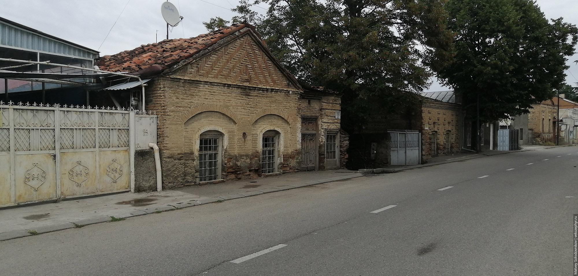 По улицам Телави