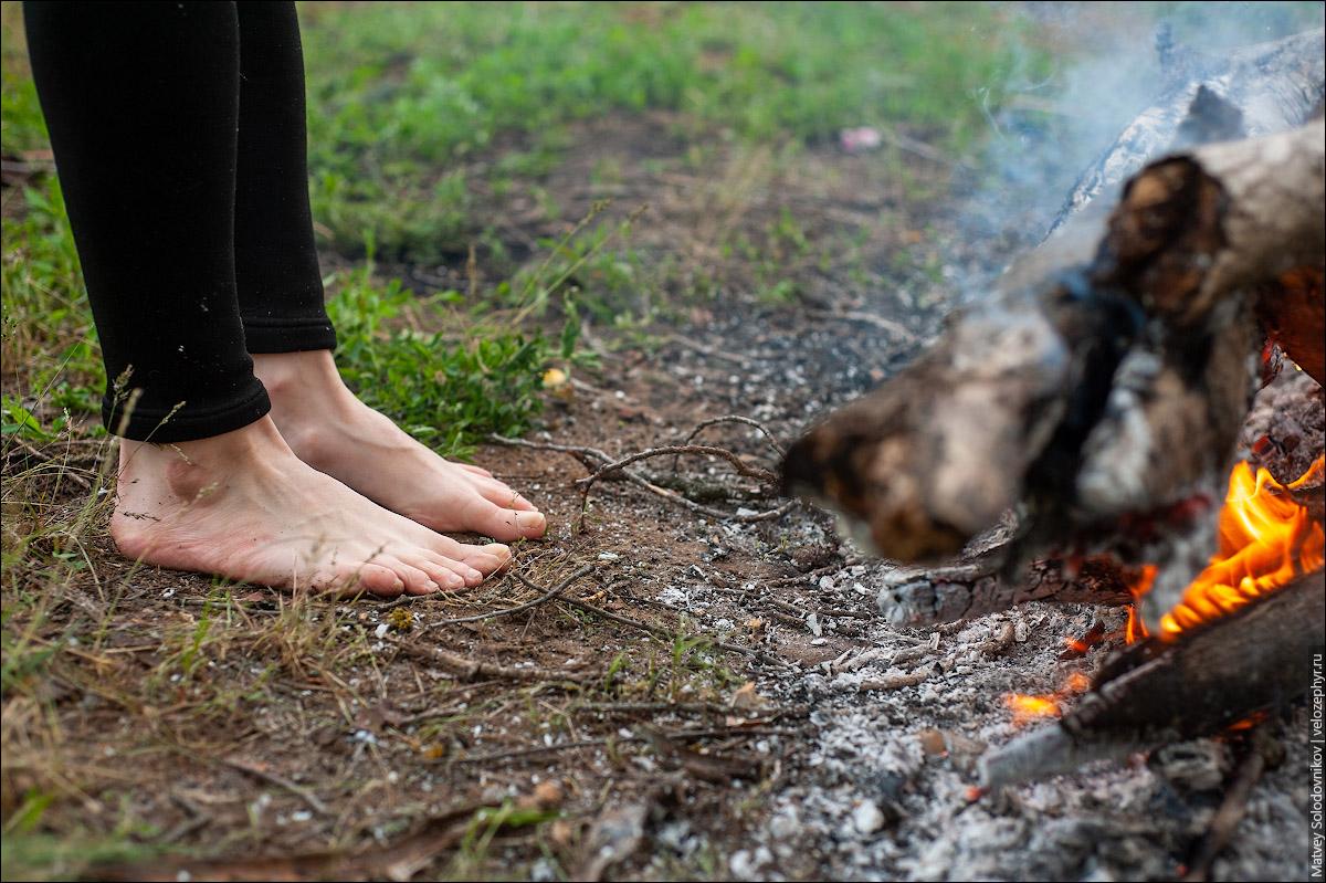 Носки Ирина спалила
